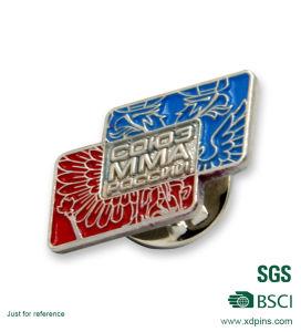 Fashion Custom Design Enamel Animal Metal Pin Badge (AB6) pictures & photos