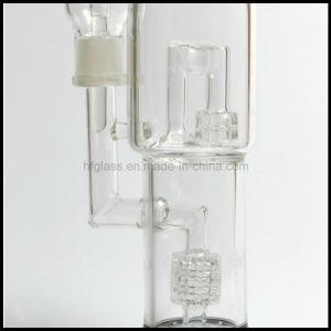 Manufacturer Glass Smoking Water Pipe Diamond Glass Matrix Wholesale Smoking Pipe pictures & photos
