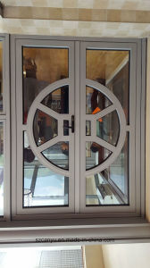 Cy Home Superb Quality Double Glass PVC Frame Round Window pictures & photos