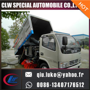 Hot Sale Dongfeng Duolika Street Clean Machine Road Sweeper Truck pictures & photos