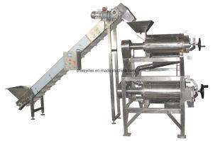 Fruit Pulp Juice Making Machine / Mango Puree Extractor/Fruit Vegetable Mango Pulping Machine for Sale pictures & photos