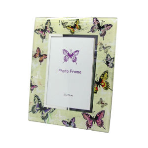 Custom High Quality Wedding Gift Glass Photo Frame Hx-1945 pictures & photos