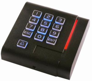 Keypad RFID Reader RS232 Standalone 125kHz RFID Keypad Access Control Systems with Security Use pictures & photos
