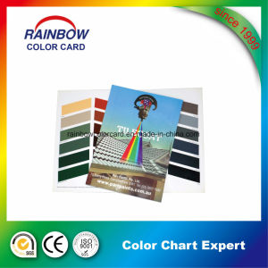 Custom Pamphlet Printing Pantone Color Card pictures & photos
