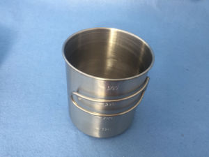 Stainless Steel Camping Mug with Scale Mark pictures & photos