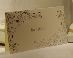High Quality Customized Wedding Invitation Card Printing pictures & photos
