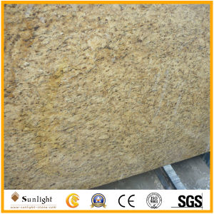 Polished Gold/ Giallo Ornamental Granite for Countertop/Tiles/Backsplash pictures & photos