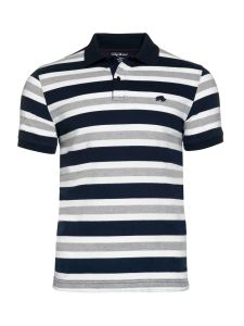 2017 New Design Customized Men Cotton Fashion Stripe Short Sleeve Polo Shirts T-Shirts Clothing (S8285) pictures & photos