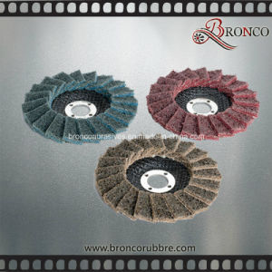 "5"" X 7/8"" 125*22mm Medium T29 Convex Non Woven Abrasive Flap Disc for Surface Condition pictures & photos"