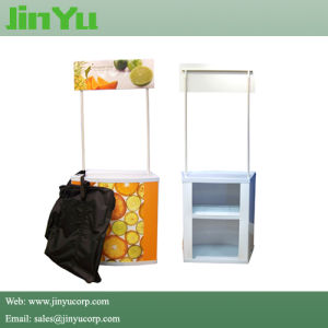 Light Weight Portable Plastic Promotional Counter pictures & photos