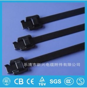 ABS, Dnv UL Listed Epoxy Coated Releasable Stainless Steel Cable Ties pictures & photos