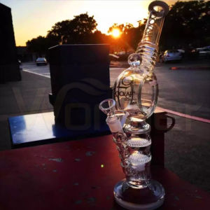 Handblown Borosilicate Colorful Smoking Glass Water Pipe pictures & photos