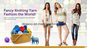 POM POM Fancy Yarn Knitting Yarn pictures & photos