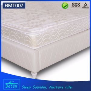 OEM Resilient Compressed Mattress 25cm High with Resilient Bonnell Spring and Comfort Box Top Layer pictures & photos