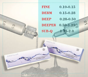 Ce Singfiller Chinese Brand Acide Hyaluronic Dermal Filler pictures & photos