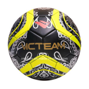 Personalized Black Soccer Ball Factory Direct Sale pictures & photos