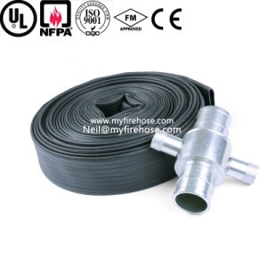 4 Inch Wear-Resisting Double Coated Nitrile Rubber Lined Fire Hose pictures & photos
