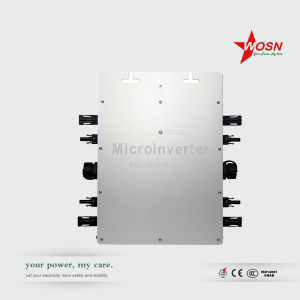 Pure Sine Wave 1200 Watt Waterproof on Grid Tie Solar Micro Power Inverter pictures & photos
