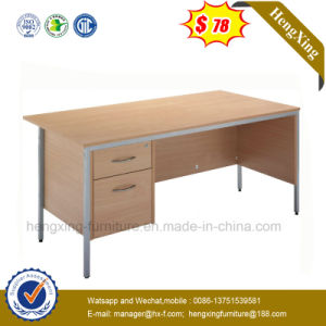 Elegant Metal Leg Wooden Top Office Desk (NS-ND147) pictures & photos