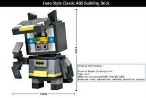 6731403-ABS Cartoon Hero Style Building Block pictures & photos