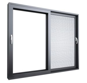 Australia Certificated Sliding Window and Door with Screen and Imported Pulley pictures & photos