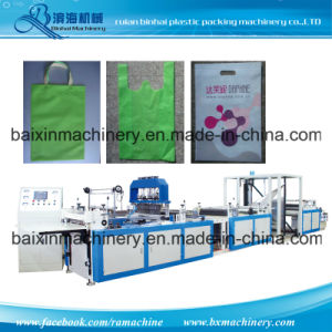 Nonwoven Shopping Handle Bag Making Machine pictures & photos