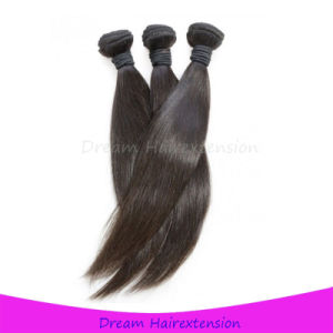 Factory Wholesale Virgin Straight Peruvian Hair Weave pictures & photos