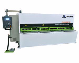 QC12k 16*2500 Hydraulic CNC Swing Cutting Shear