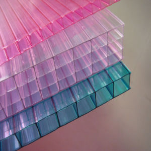 Multi-Wall Hollow Sheet&Transparent Polycarbonate Hollow Sheet pictures & photos