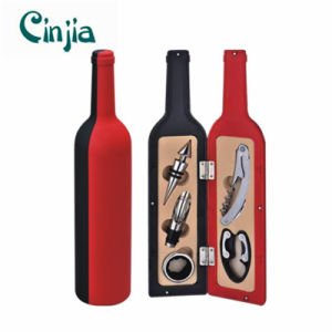 5PCS Big Bottle Red Wine Opener Tools Set for Gift pictures & photos