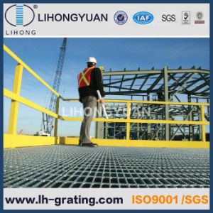 Hot DIP Galvanized Industrial Steel Grating for Platform pictures & photos