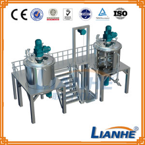 Stainless Steel Shampoo Mixing Blending Tank Blending Machine pictures & photos