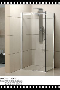 Rectangular America Market Welcome Type Shower Enclusures pictures & photos