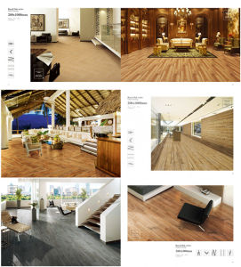Golden Concept 3D Wood Ceramic Tiles pictures & photos