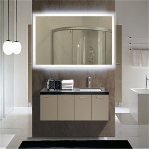 Luxury Hotel IP44 Ce ETL Approved Bathroom Backlit Mirror pictures & photos