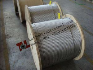 Ss 304 1X19 Stainless Steel Rope pictures & photos