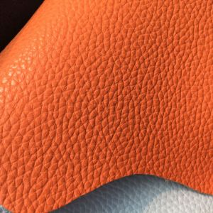 Anti-Abrasion Microfiber PU Leather for Furniture Hw-1467 pictures & photos