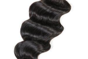 Hot Style 5A Grade Natural Black Human Hair Loose Deep Wave pictures & photos