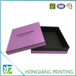 Custom Black Logo Cardboard Gift Boxes Wholesale pictures & photos