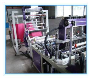 Plastic Machine Bag Making Machine for Non Woven Fabric pictures & photos