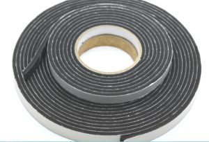 3.2mm Grey Single Sided PVC Foam Tape pictures & photos