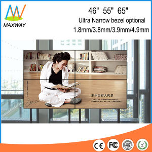 55inch Floor Stand 2X2 LCD Video Wall with Controller (MW-552VBD) pictures & photos