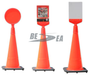 New Items LLDPE Assemble Traffic Cone Warning Signal Board pictures & photos