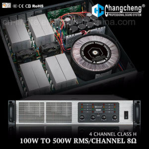 Vq 4 Channel Class H Professional Power Amplifier pictures & photos