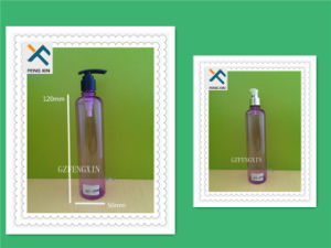 Pet Bottle Plastic Material for Cosmetic or Shampoo 400ml pictures & photos