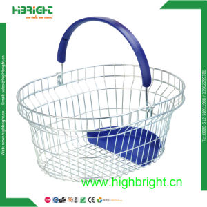 Grocery Store Cosmetic Wire Shopping Baskets pictures & photos