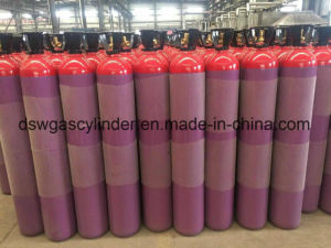 Bureav Veritas Certification Oxygen Cylinder with Ngt Valve pictures & photos