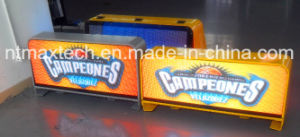 Full Color Advertising Sign Taxi Mounted Traffic Sign Traffic Control Road Management pictures & photos