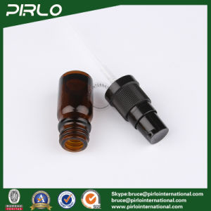 5ml Amber Glass Spray Bottles with Black Lotion Sprayer pictures & photos