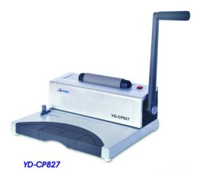 Spiral Ring Binding Machine (YD-CP827) pictures & photos